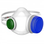 Woobi Play Children Air Purifying Respirator Mask Blue