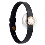 Xiaomi Amazfit Li An Xin Buckle Leather Wristband Gold/Black