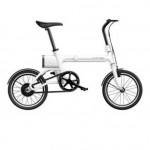 Yunbike UMA Mini Foldable Bicycle White