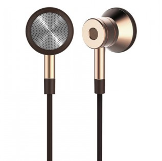 1More Design Piston Earbuds Upgraded Gold