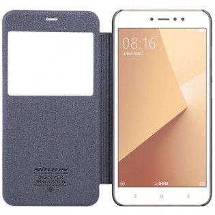NILLKIN Sparkle Folio Case for Xiaomi Redmi Note 5A High Ed. Gray