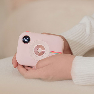 SOLOVE camera cute hand warmer power bank N7 Pink