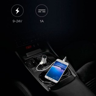 Xiaomi CooWoo Bluetooth Car Charger Headset