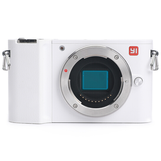 Yi M1 Mirrorless Digital Camera Dual Lens Chinese Version White