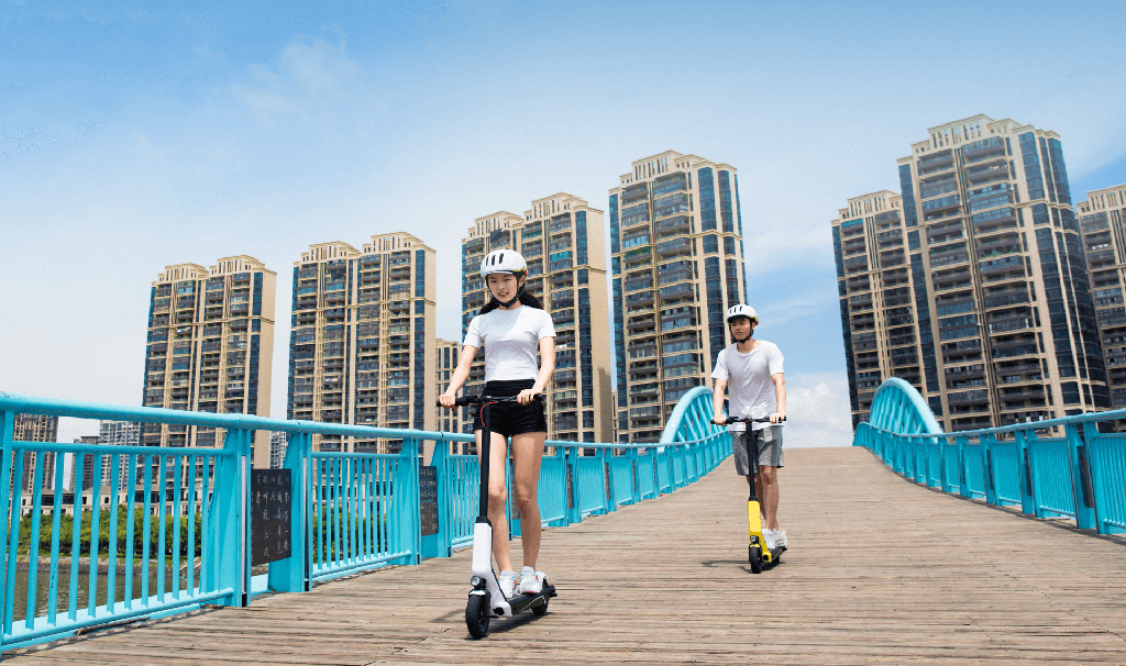 Xiaomi QiCycle EUNi Electric Scooter Photo 1