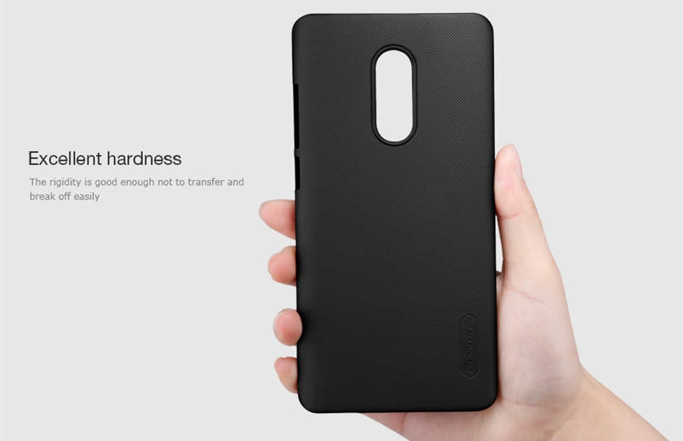 Xiaomi Redmi Note 4X Nillkin Frosted Shield Hard Case Photo 4